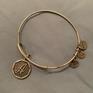 """Brand new without tags Alex and Ani """"A"""" bracelet"""